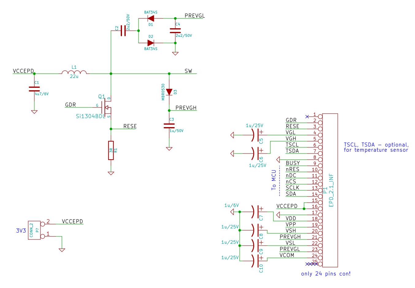 EPD Driver Circuit