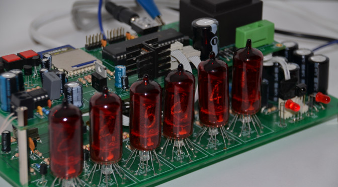 Talking Nixie Clock
