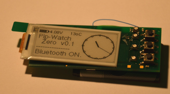 PIP-Watch Boards & Assembly